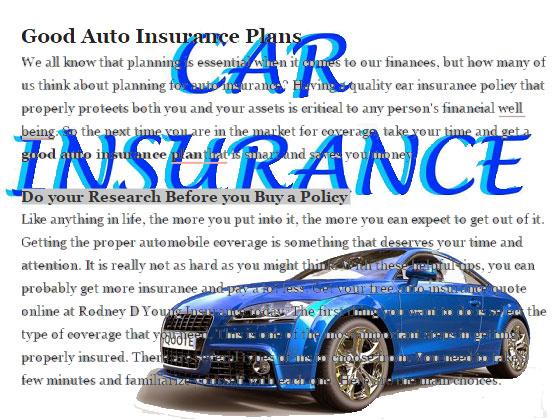 good-auto-insurance-plan