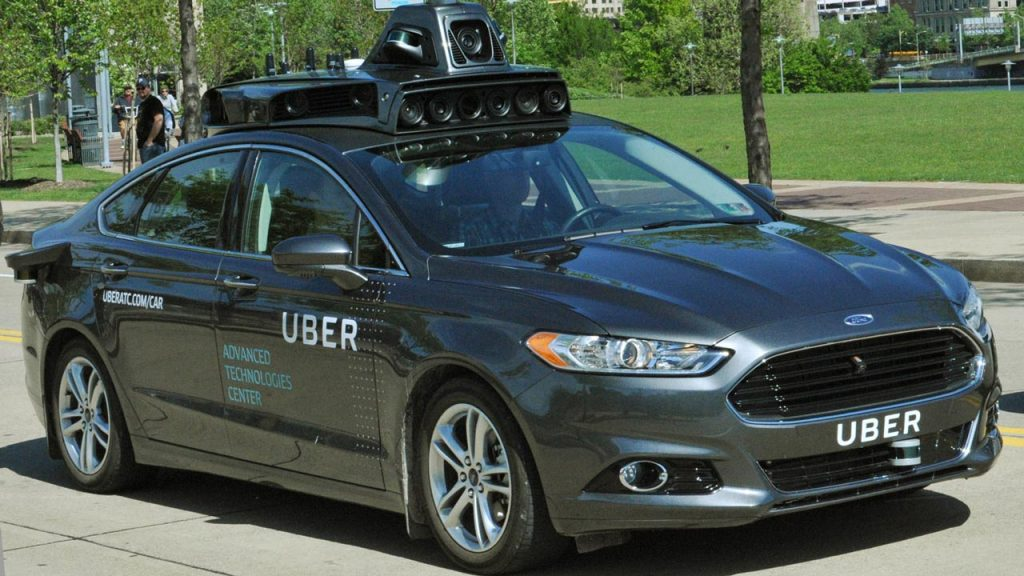 Uber Tests Driverless Cars