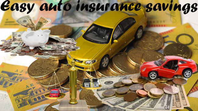 easy auto insurance savings