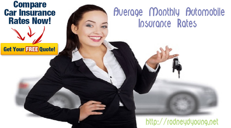Average Monthly Auto Insurance Rates