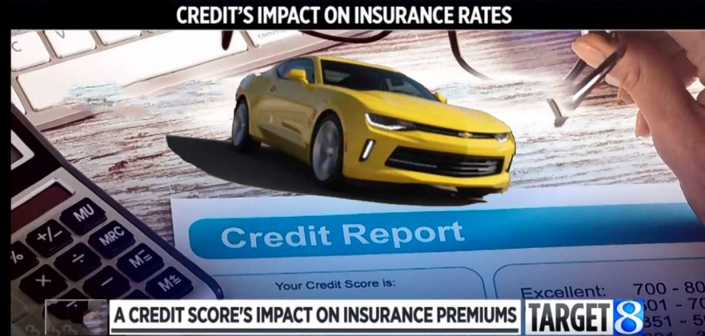 how credit score affect car insurance rates